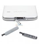Galaxy S5 USB Cover Zilver