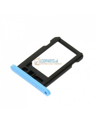 iPhone 5C Sim Kaart Houder Blauw