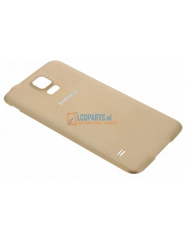 Galaxy S5 Batterij Cover Goud