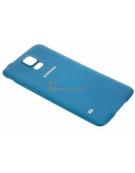 Galaxy S5 Batterij Cover Blauw